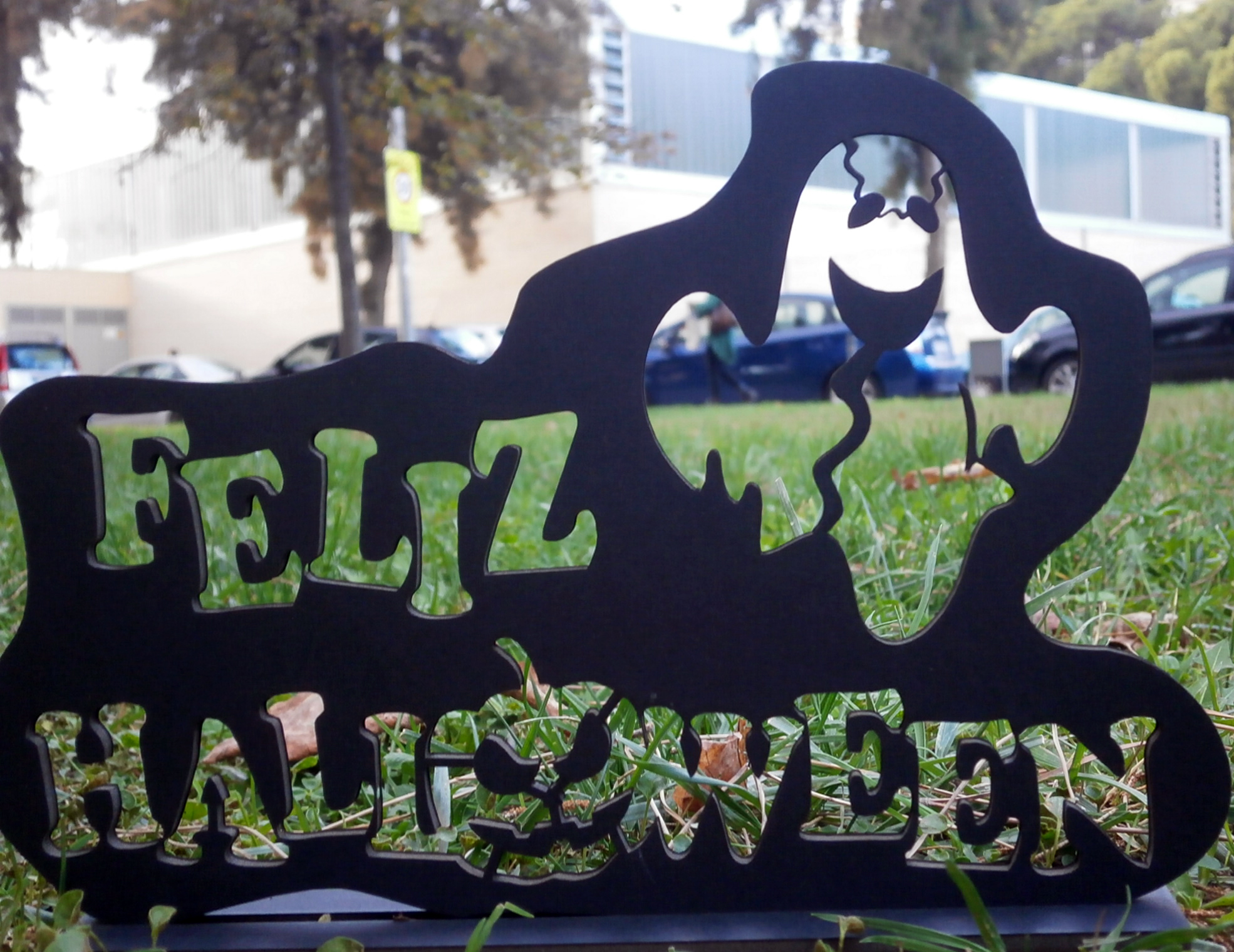 Feliz Halloween en la escuela