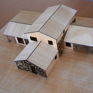 Maqueta de una Casa Pasiva