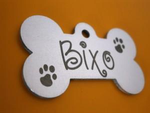 Placa grabada para Mascota