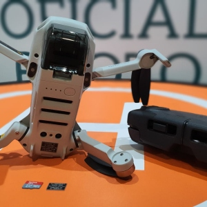 Nano Placa Ignífuga para Dron Mavic Mini