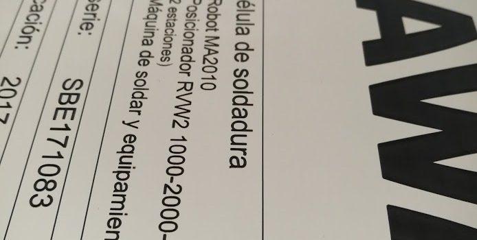 El LÁSER como la mejor opción para identificación de maquinarias (marcado CE)